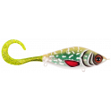 Strike Pro Guppie 13,5cm Glitter Pike - Green/Gold Glitter